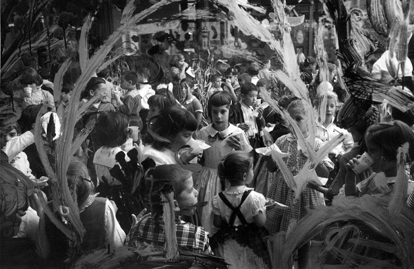 Sukkot celebration, circa 50's