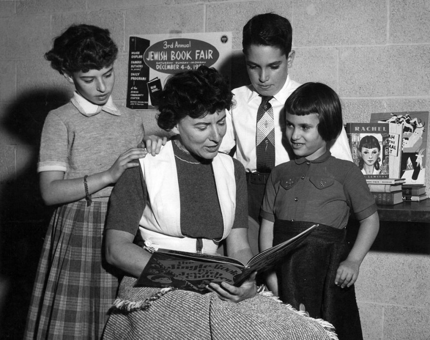 1954 Book Fair at the Jewish Community Center on Woodward Avenue