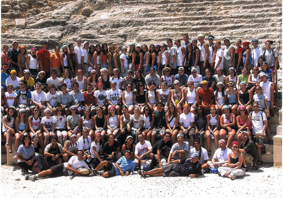 Federation's Teen Mission to Israel, 2004