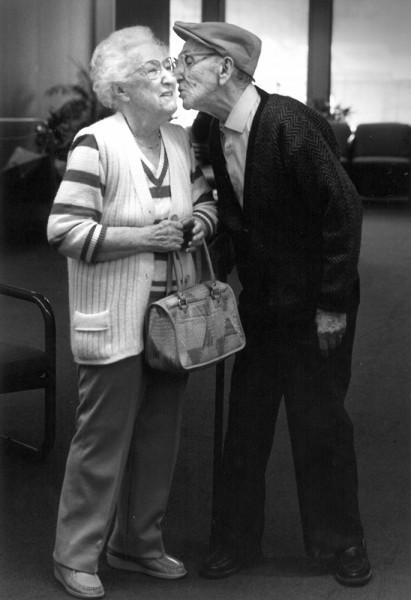 Fleischman residents, Ida and David Kahn