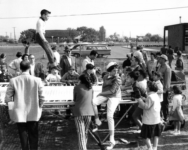 Family Fun Day at the J 1956