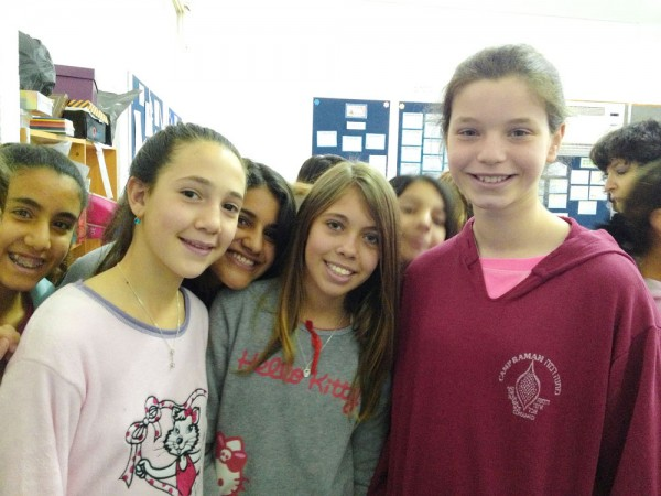 Avivia Lupovitch and pen pals