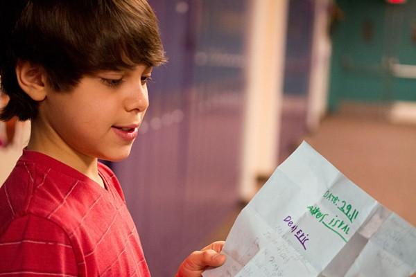 Sixth-grader at Hillel Day School, Eric Lipsky