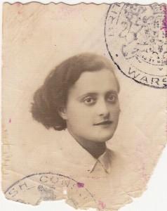 Masha Gross ז''ל (née Einstein)