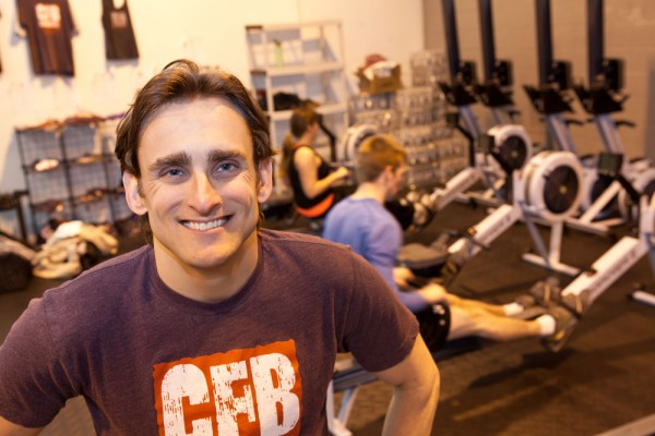 Jordan Levin, life coach and owner, CrossFit Bloomfield