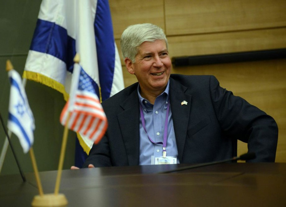 Governor Snyder in Israel