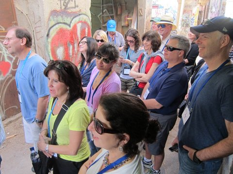 Viewing messages on the walls: on a graffiti tour in Jerusalem