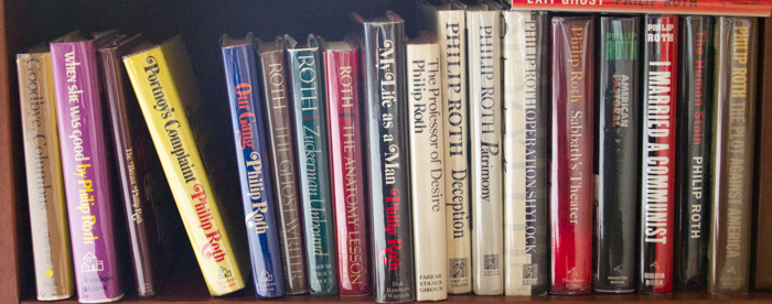 feature-Philip Roth bookcase-5568
