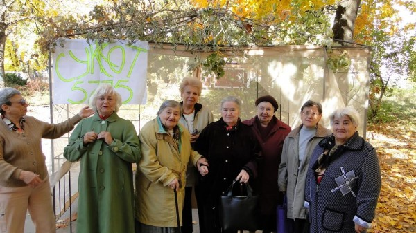 In October,  the Jews of besieged Donetsk -- the city in eastern Ukraine caught in the crossfires of much of the tension and violence plaguing the former Soviet republic -- celebrated a very special Sukkot.