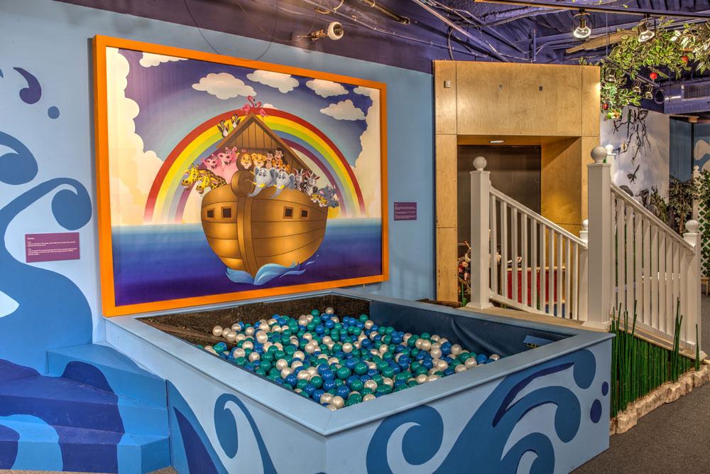 Noah's Ark Ball Pit