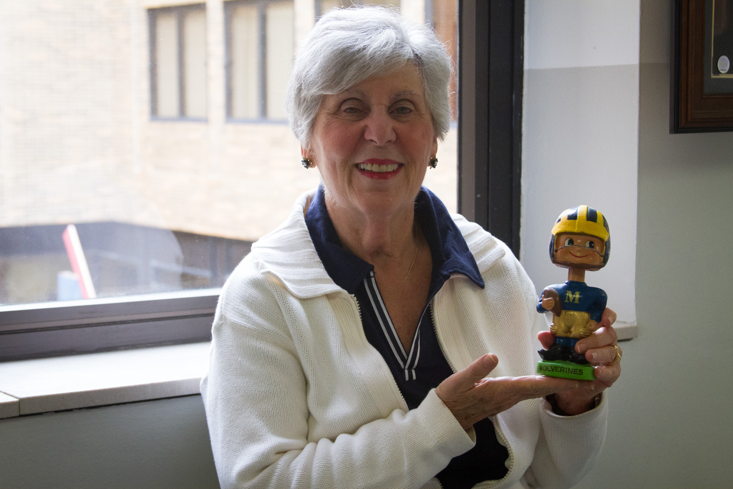 Sandy Matthews with Bobblehead-2576
