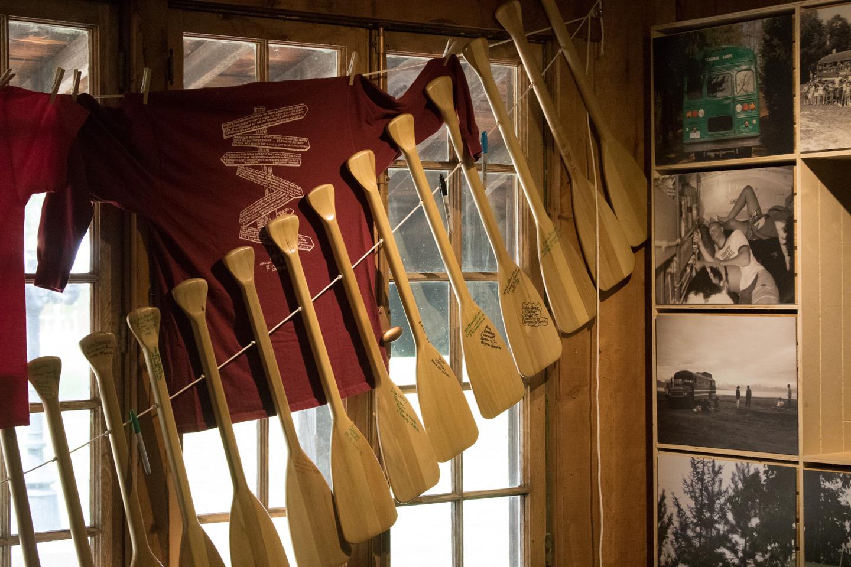 Tamarack Camps Museum_Oars-3156