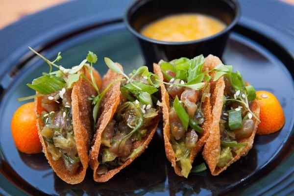 Tuna Tacos from Fountain Detroit