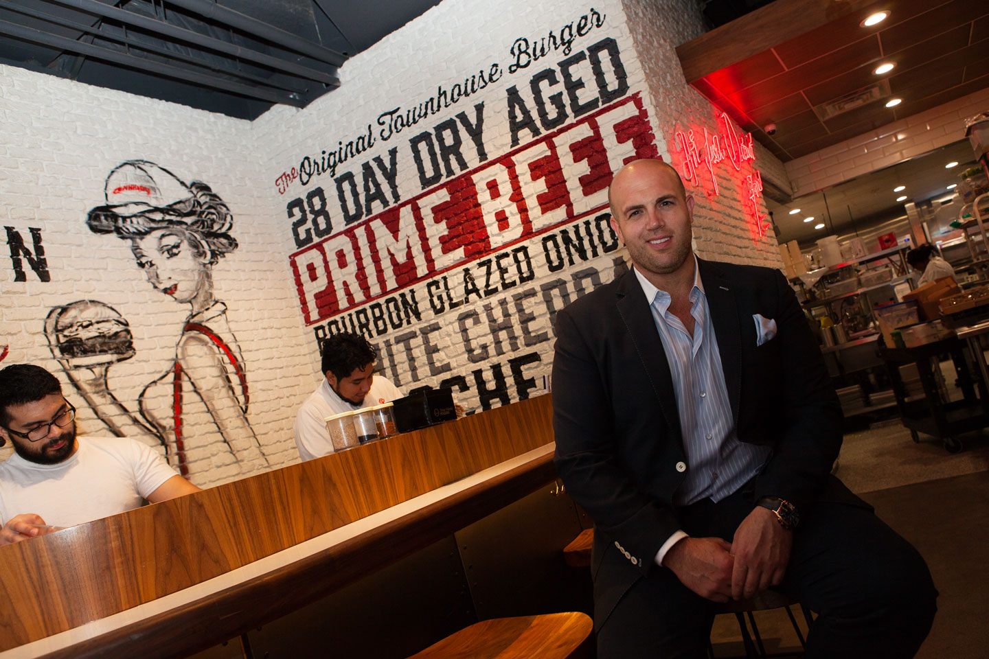 Jeremy Sasson, restaurateur behind Townhouse