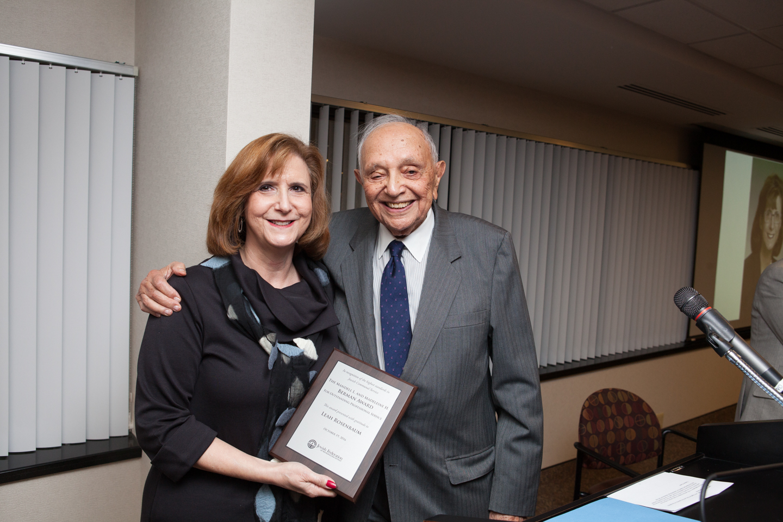 Leah Rosenbaum and Bill Berman