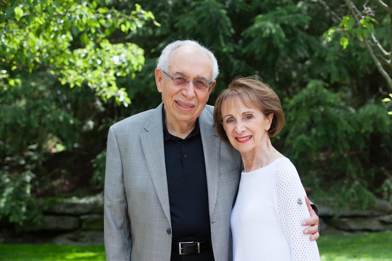 Phil and Estelle Elkus