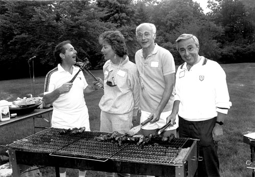 Federation's Campaign Barbeque_May 25, 1991