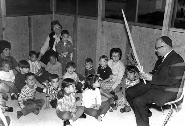 Sukkot, October 1965 at the Jewish Community Center