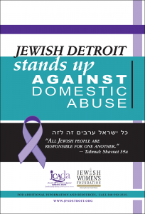 Jewish Detroit Stands Up Against Domestic Abuse