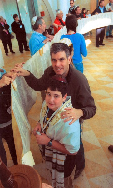 B'nai Mitzvot: sharing the experience on Federation's Family Mission