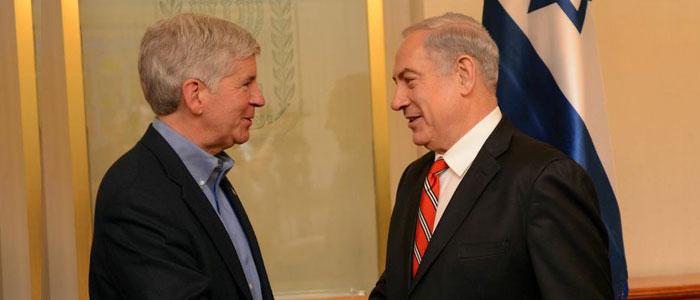 Governor Snyder in Israel