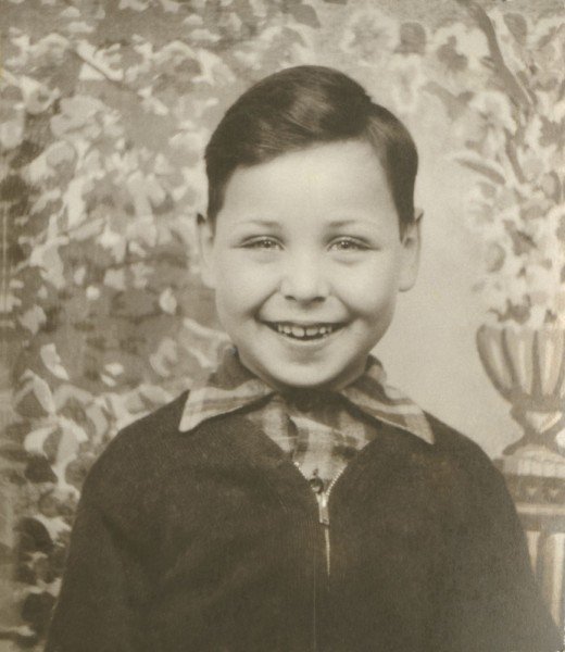 Eugene Applebaum as a young boy