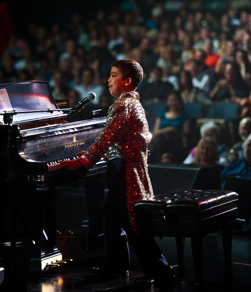 Ethan Bortnick in Concert, coming to the Berman Center for Performing Arts