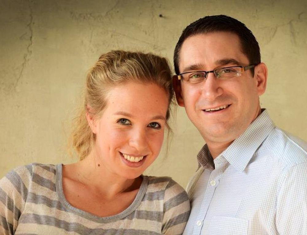 Ayelet and Jamie Blumenthal