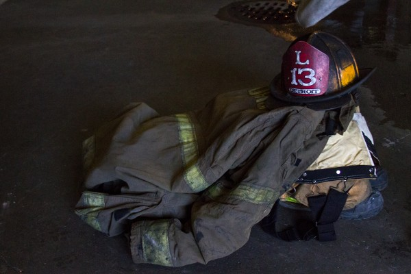 Firefighter's gear