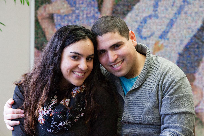 Liraz Cohen and Eviatar BaksisLiraz Cohen and Eviatar Baksis