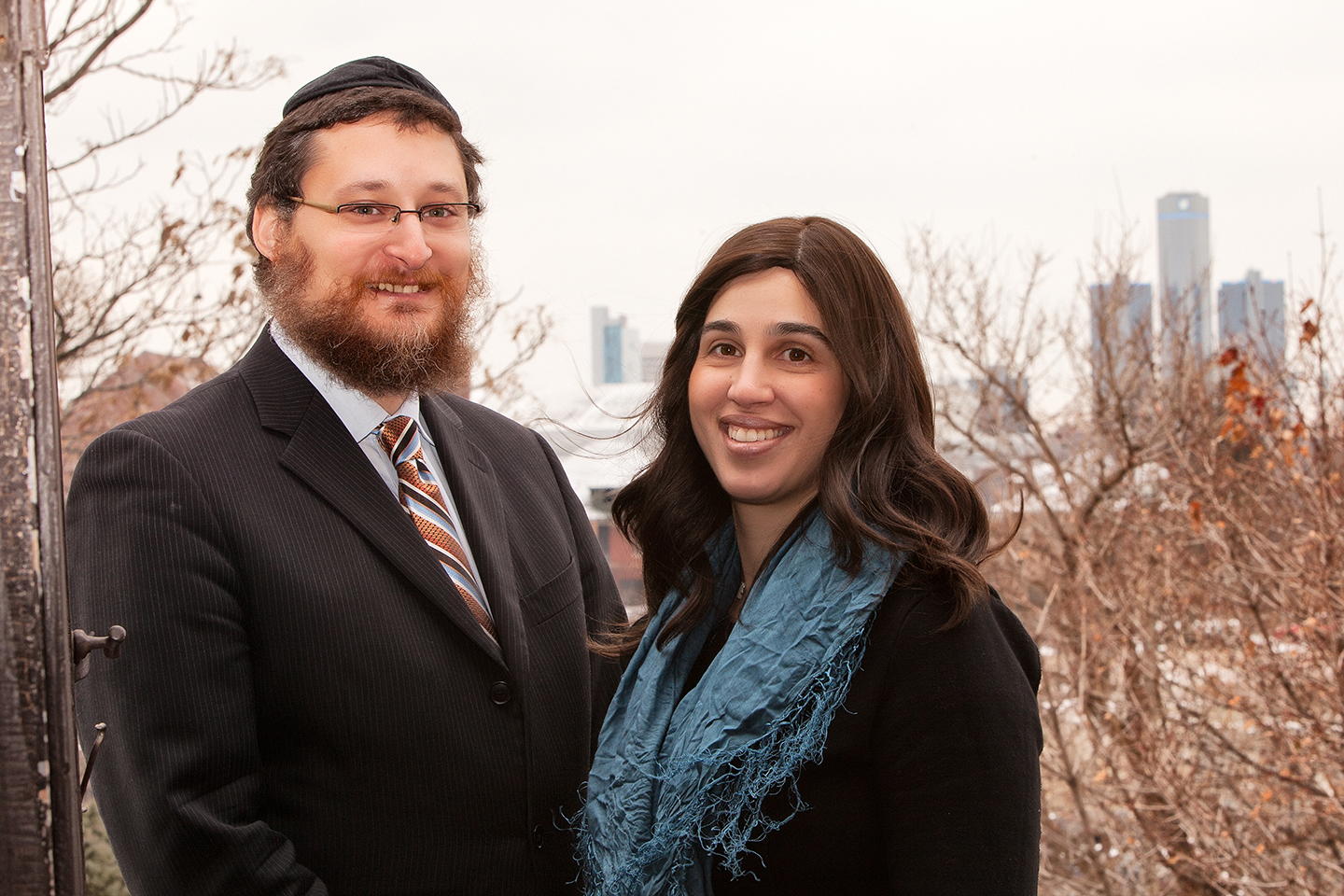 Yisrael and Devorah Pinson