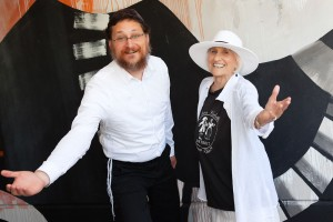 Rabbi Yisrael Pinson and Harriet Berg
