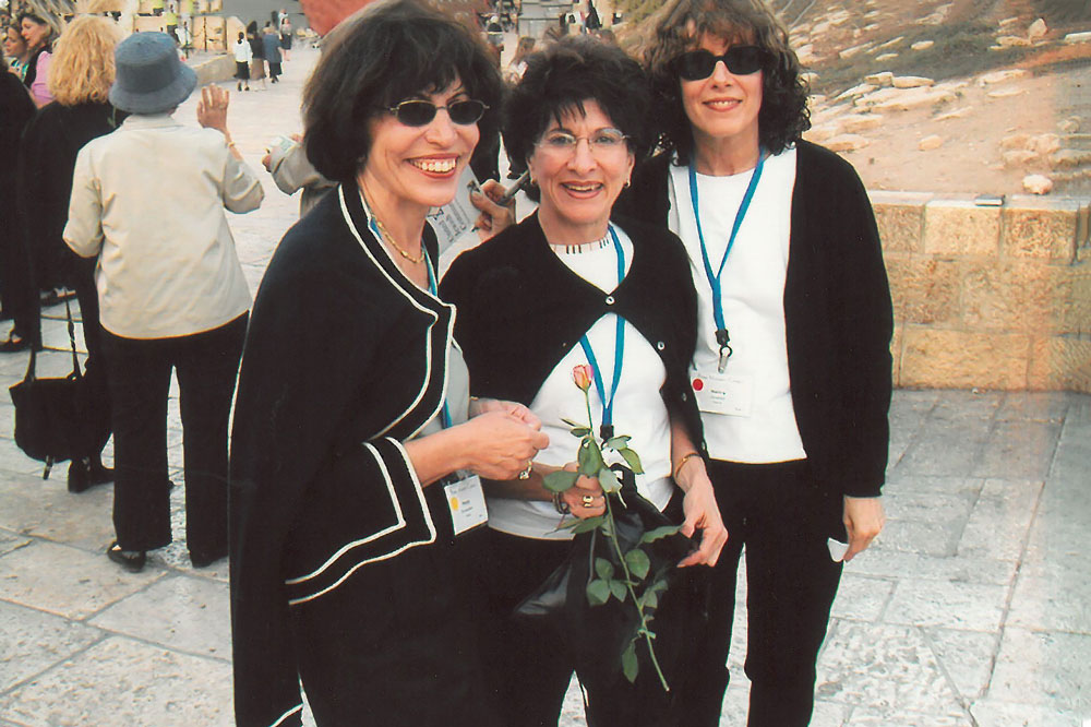 (from left to right) Penny Blumenstein, Doreen Hermelin, and Nancy Grosfeld