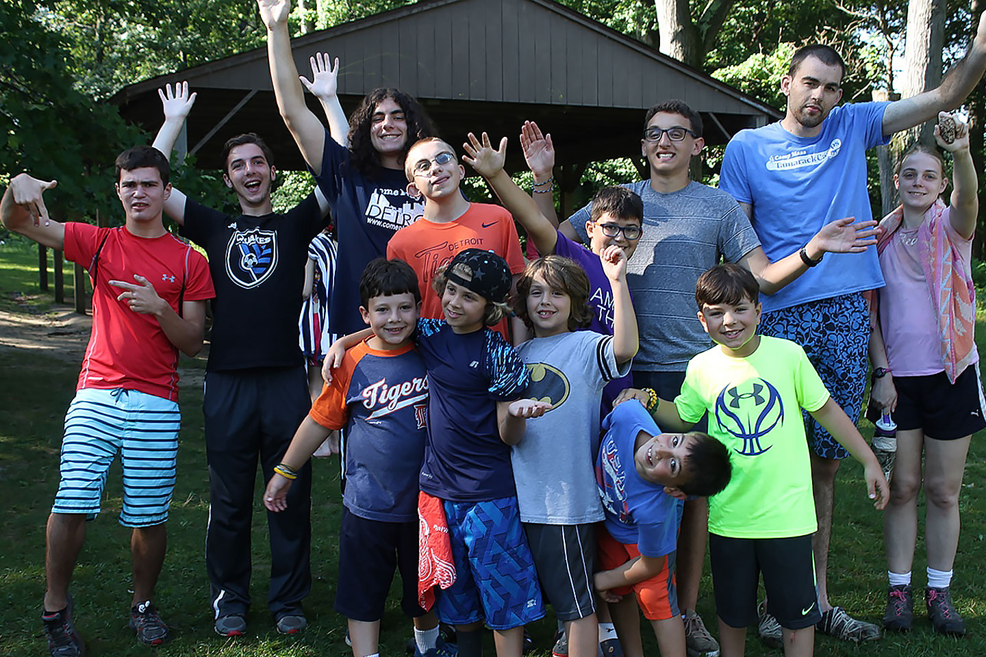 Tamarack Campers with special needs