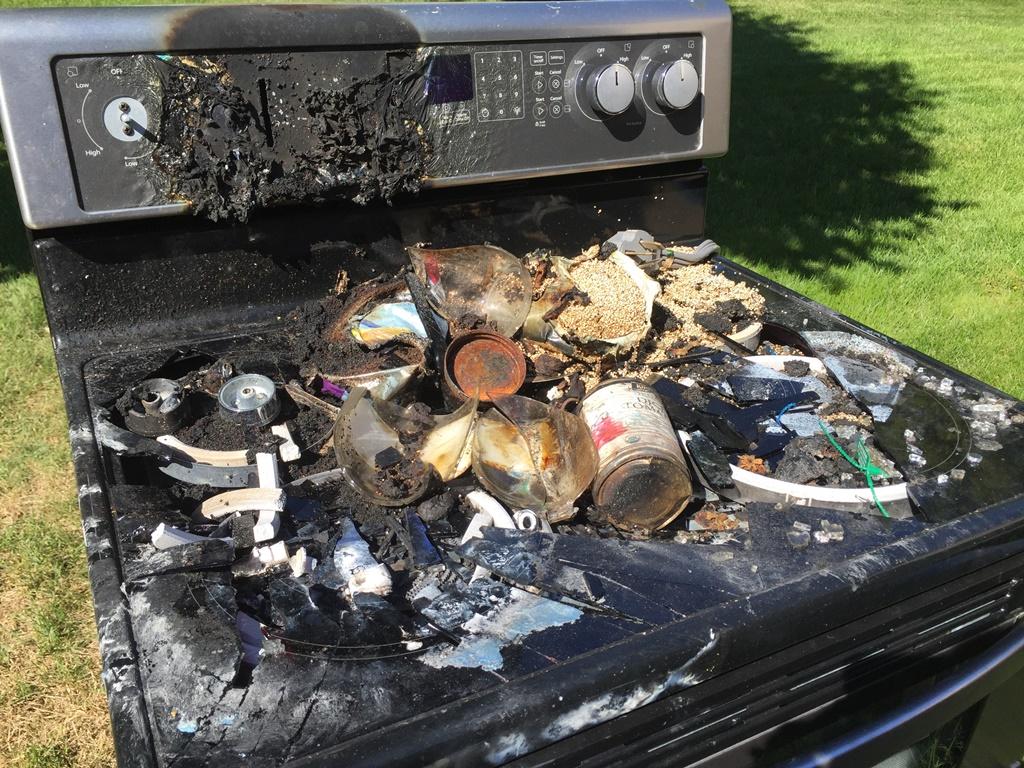 burnt-stove
