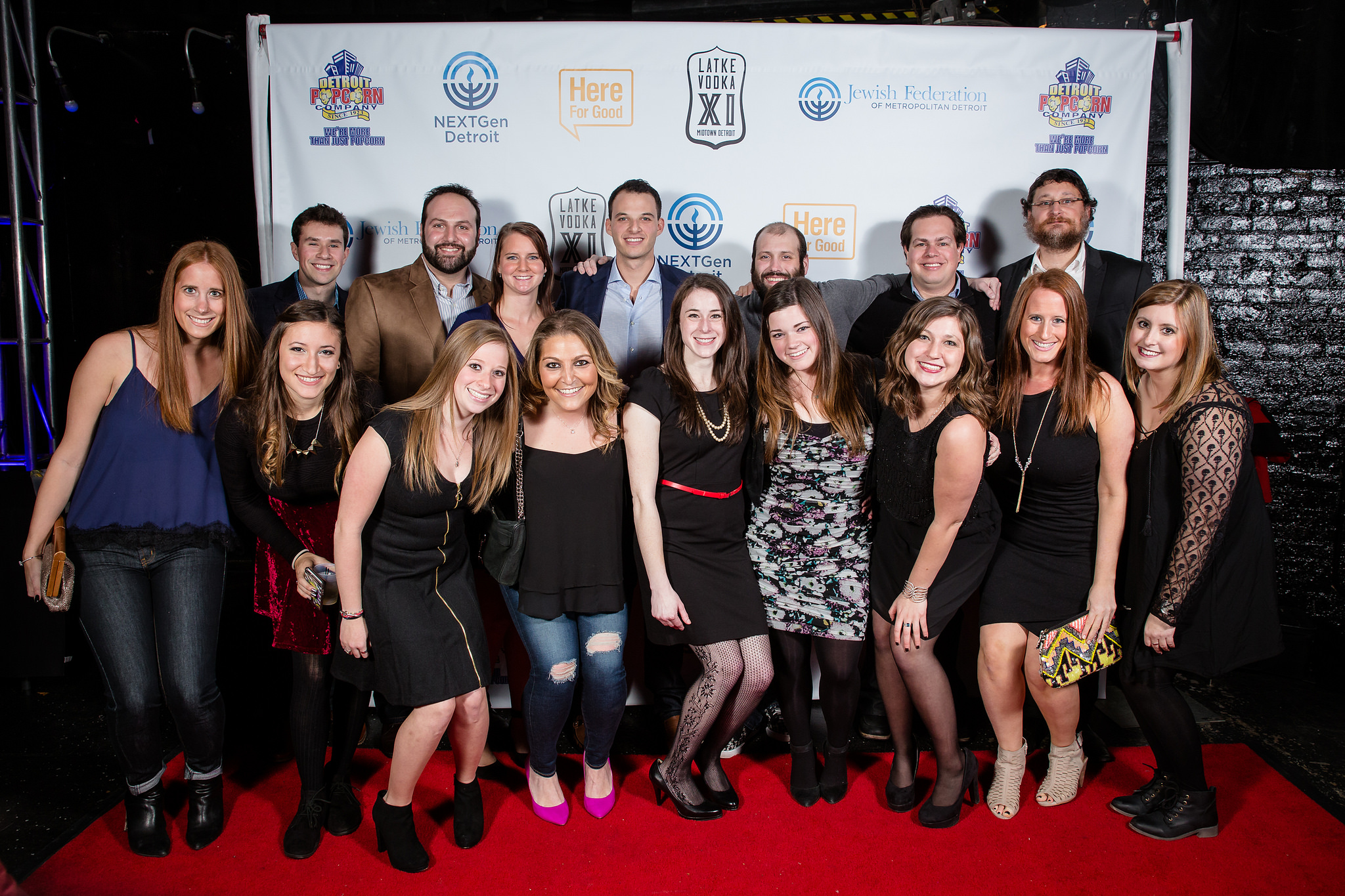The 2015 Latke Vodka Host Committee
